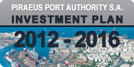 Investment Plan Piraeus Port Authority S.A. 2012 - 2016