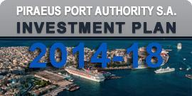 Investment Plan Piraeus Port Authority S.A. 2014 - 2018