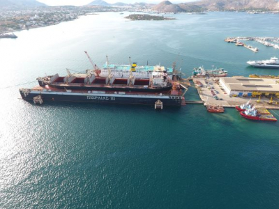 A new investment of PPA S.A. at the Ship Repair Zone in Perama